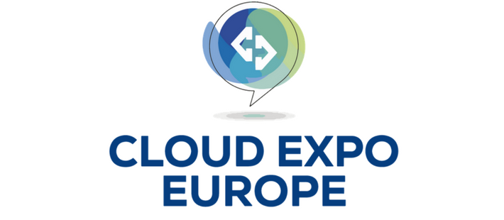 cloud expo promotional banner with logo