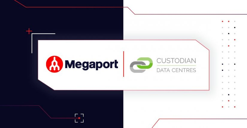 Megaport and Custodian logos